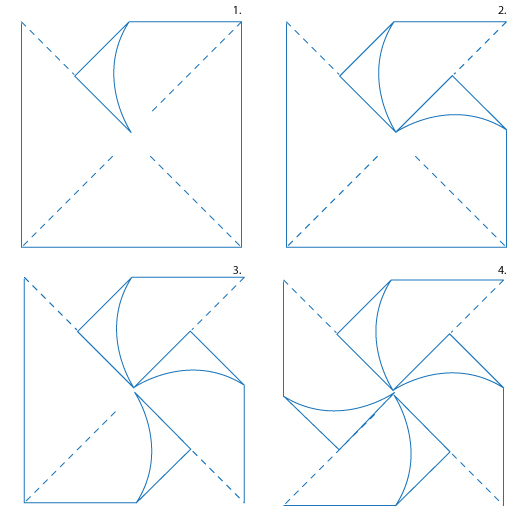 6 Images of Printable Paper Pinwheels