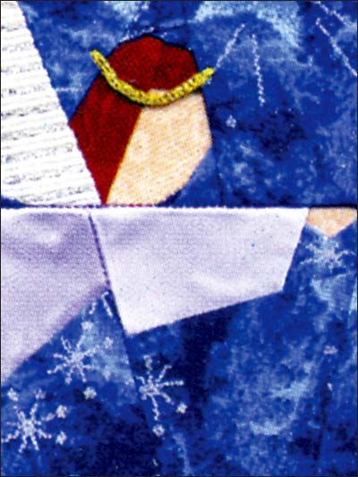 6 Images of Angel Printable Quilting Patterns