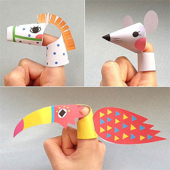 6 Images of Printable Finger On Back