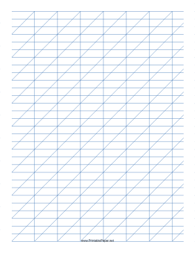 8 Images of Printable Calligraphy Grid Practices Sheet