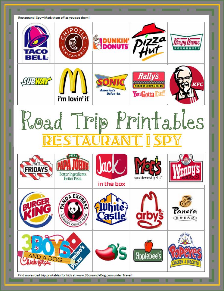 7 Images of Fun Travel Logos Printable