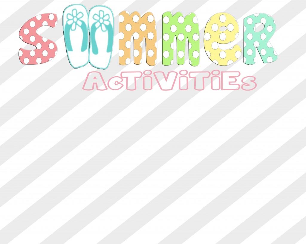 Summer Printable Activities