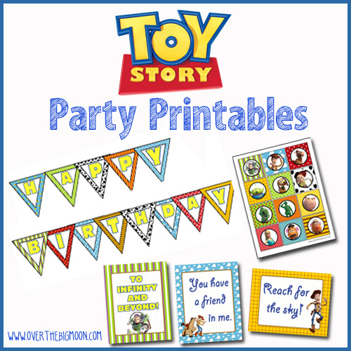 6 Images of Toy Story Party Printables