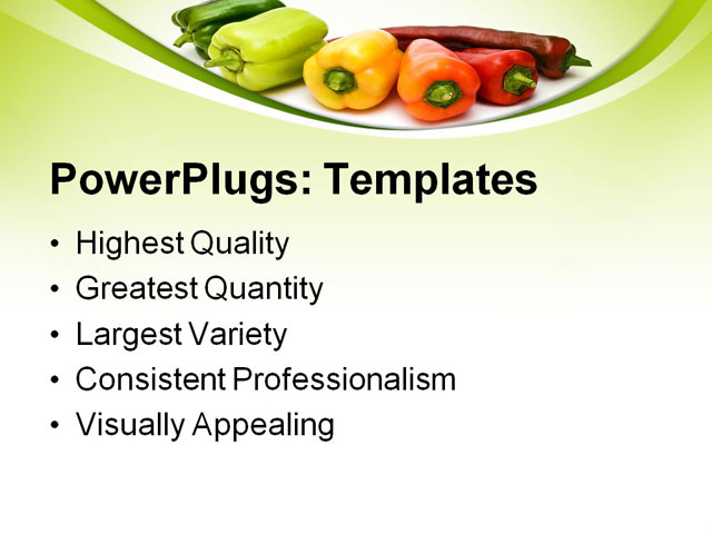 7 Best Images Of Printable Template Bell Peppers Green