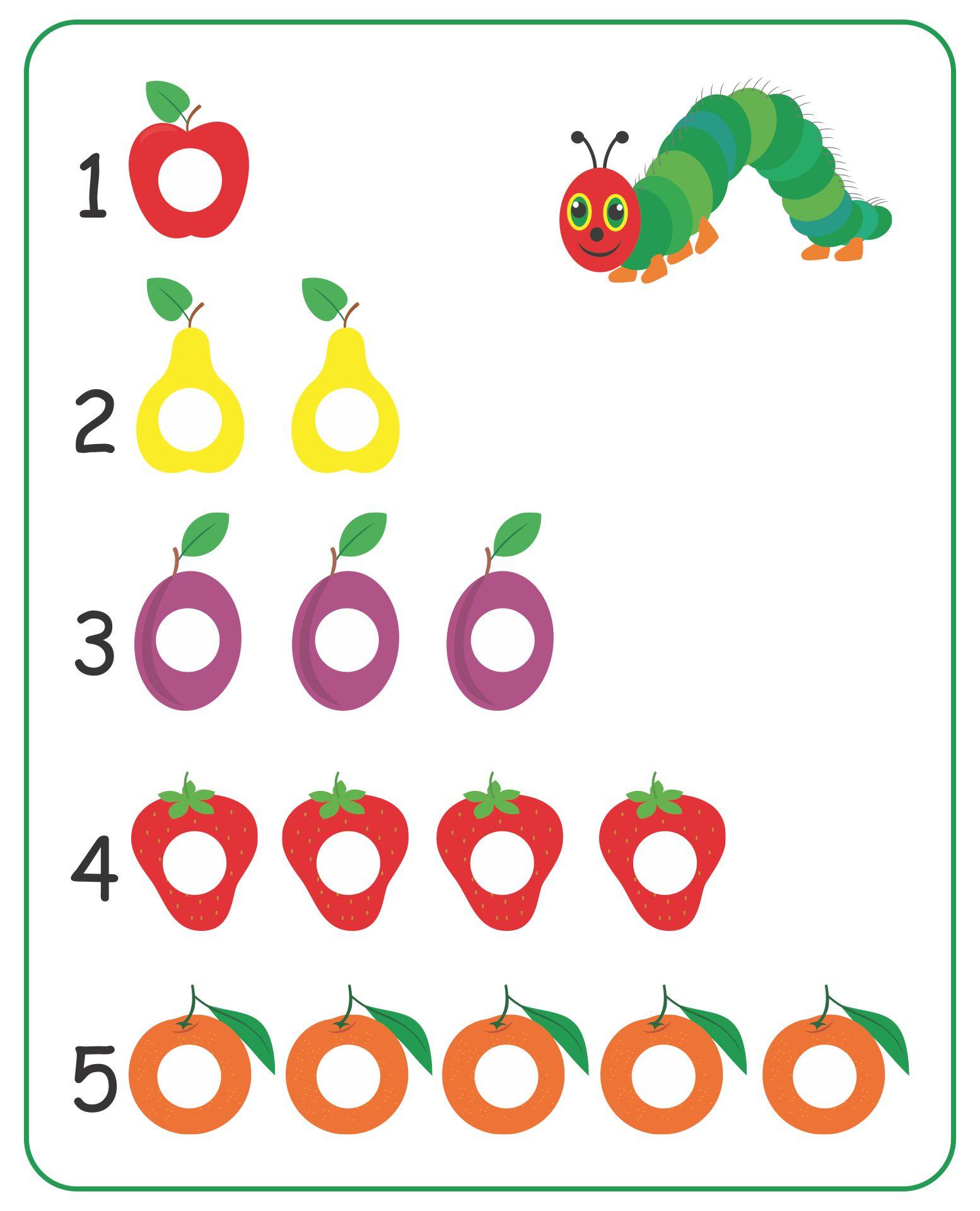 Very Hungry Caterpillar Dots