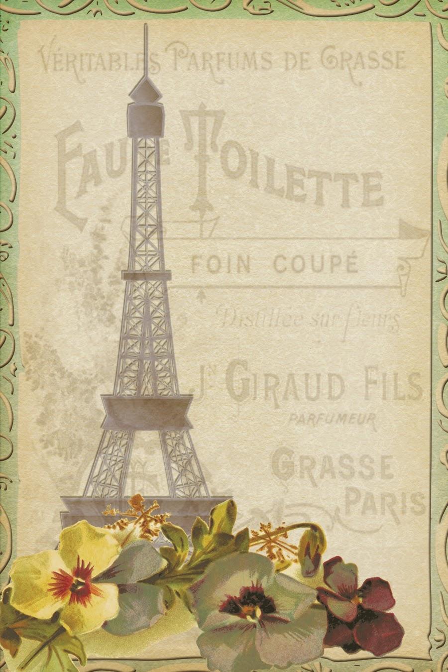8 Best Images Of Free Printable Vintage Paris Labels