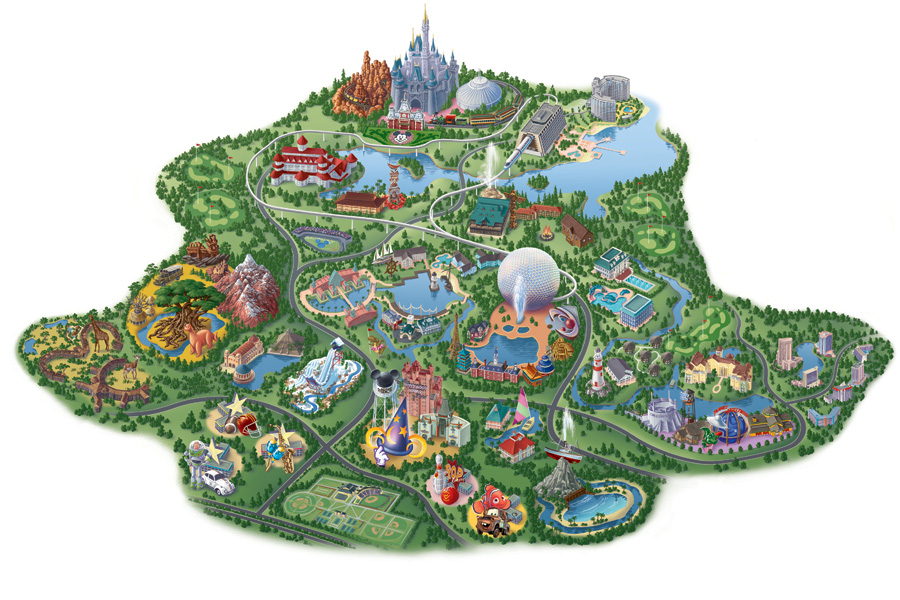 8 Images of Disney World Maps 2013 Printable