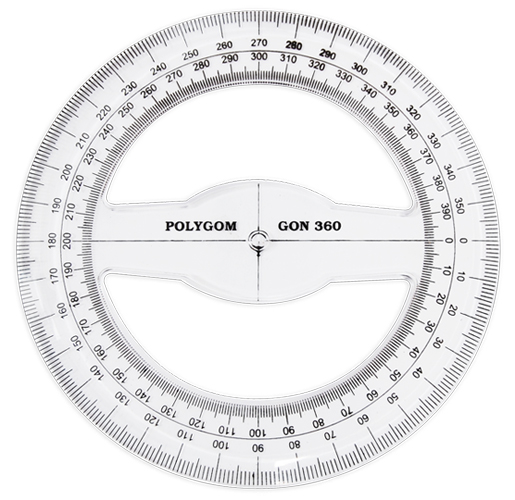 6 best images of printable 360 degree circle printable for Circular protractor template