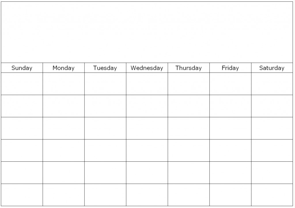 5 Images of Printable Blank School Calendar