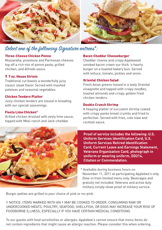 It's easy to save money at Applebee's using printable coupons and promo willbust.ml of their most popular promotions is the Birthday Club. If customers sign up for Applebee's email list and provide their date of birth, they will receive a birthday willbust.ml email list sends loyal customers regular news about restaurant deals and promos%().