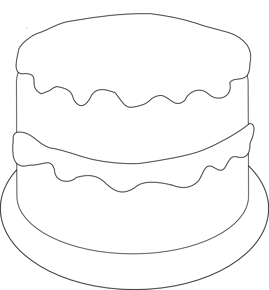 Cake Printable Images : 5 Best Images of Birthday Cake Printable Template ...