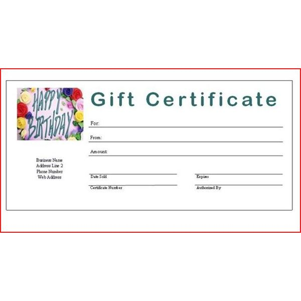 7 Best Images Of Make Your Own Gift Certificate Printable Free