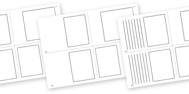 6 best images of book making templates printable pop up for Blank book template for kids