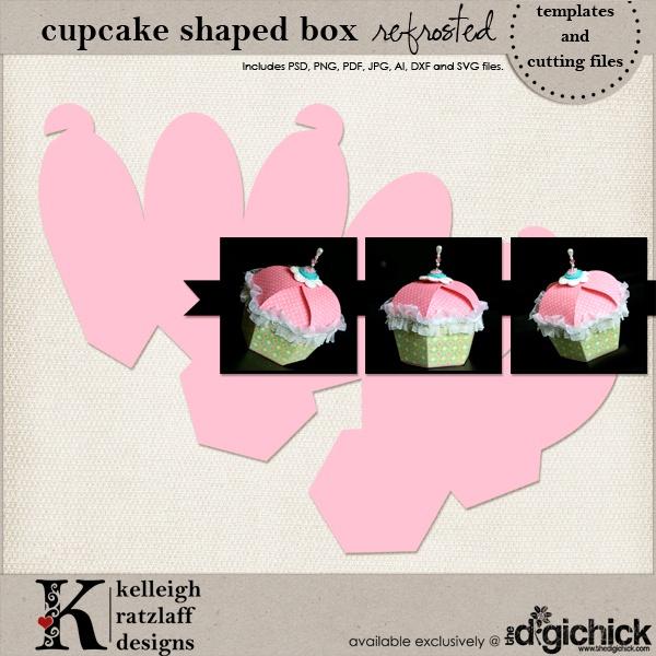 Cupcake Box Template