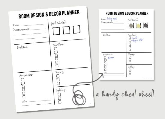Design Room Planner Free Printable