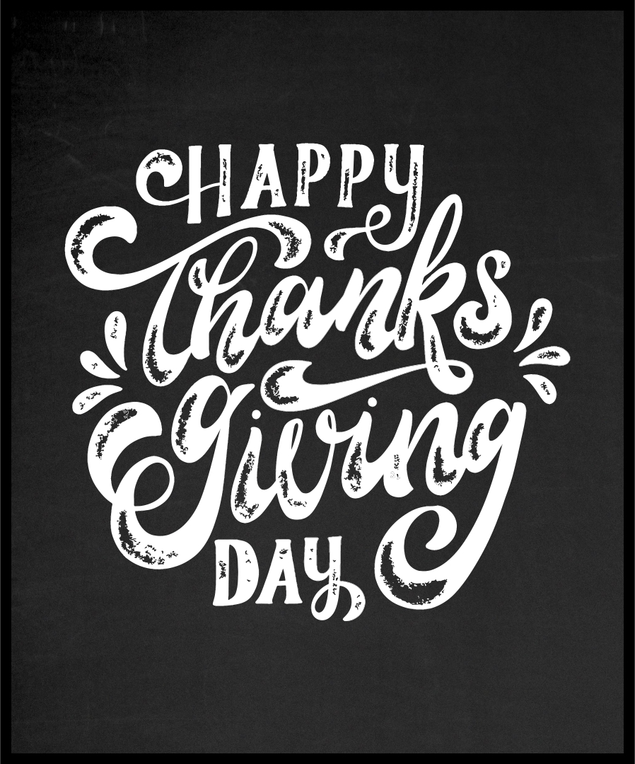 Fall Chalkboard Art Thanksgiving