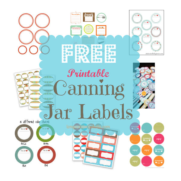 8 best images of printable labels for jars printable for Jelly jar label template