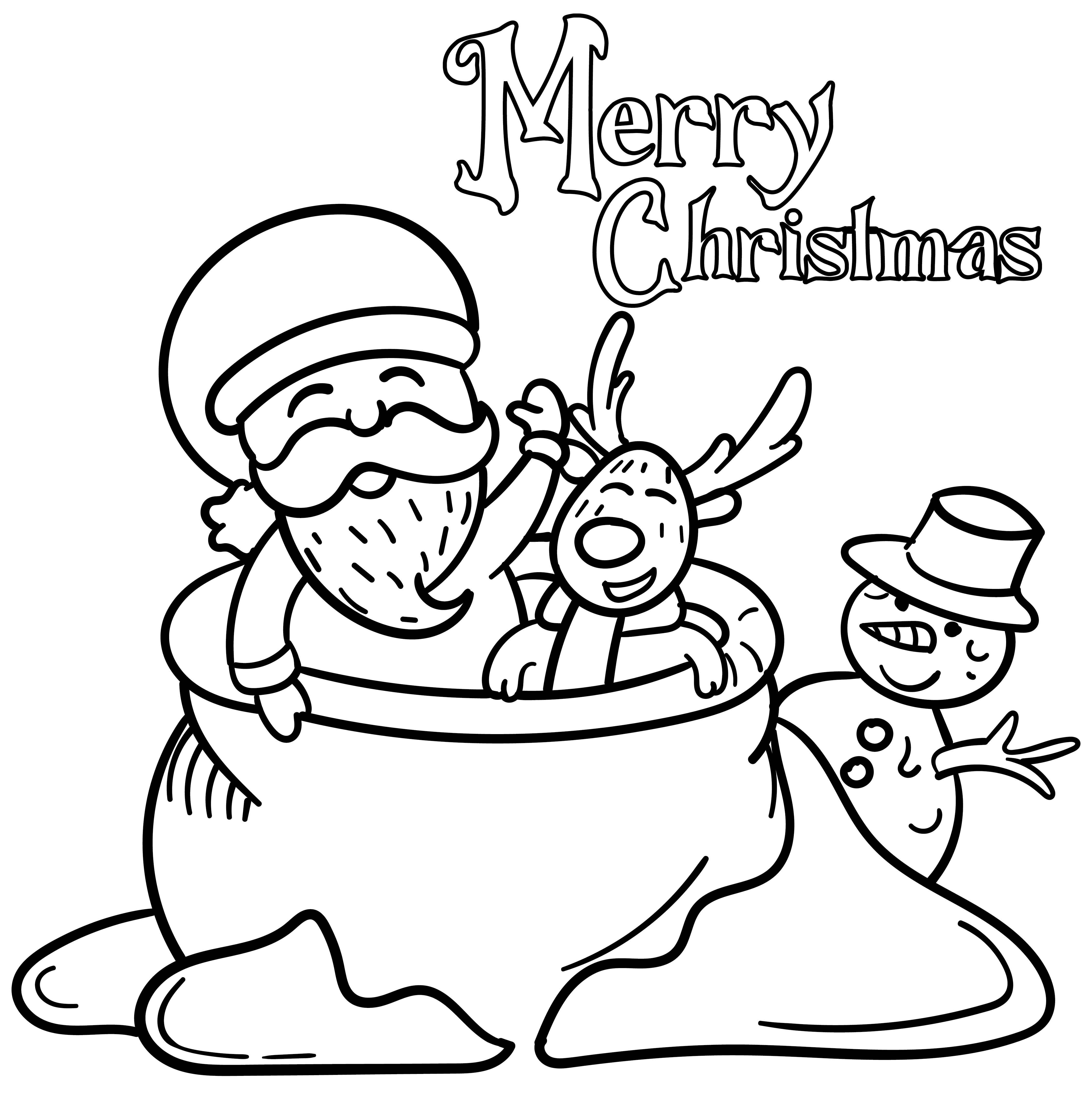 Printable Christmas Activities Kids