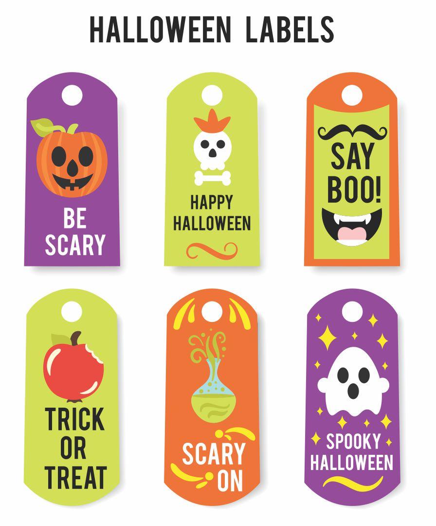 Printable Halloween Bag Tags