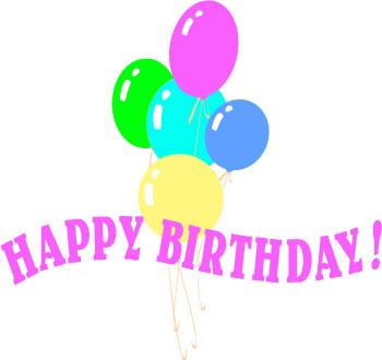Free Printable Happy Birthday Clip Art