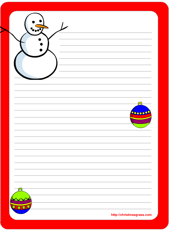 6 Images of Free Printable Holiday Stationery