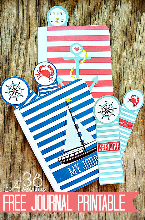 5 Images of Free Printable Nautical Journal