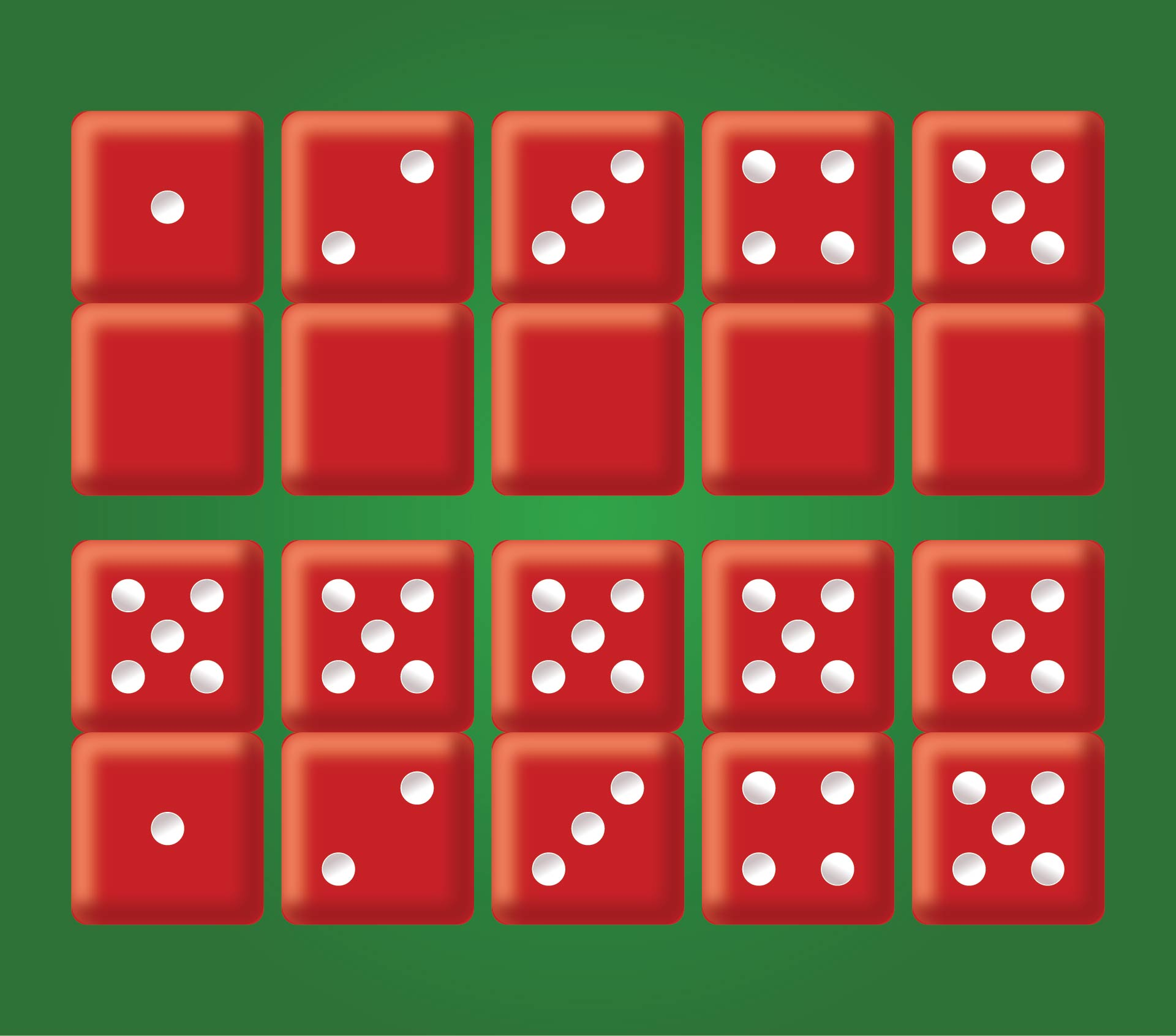 Printable Number Dot Cards