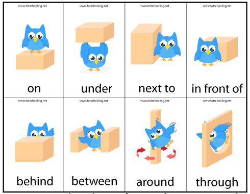 9 Images of Printable Preposition Games