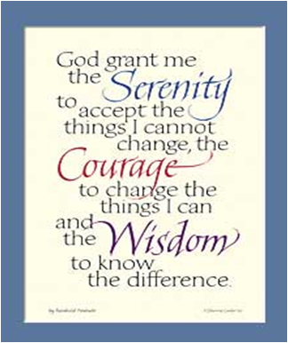 4 Images of Serenity Prayer Bookmarks Printable Free