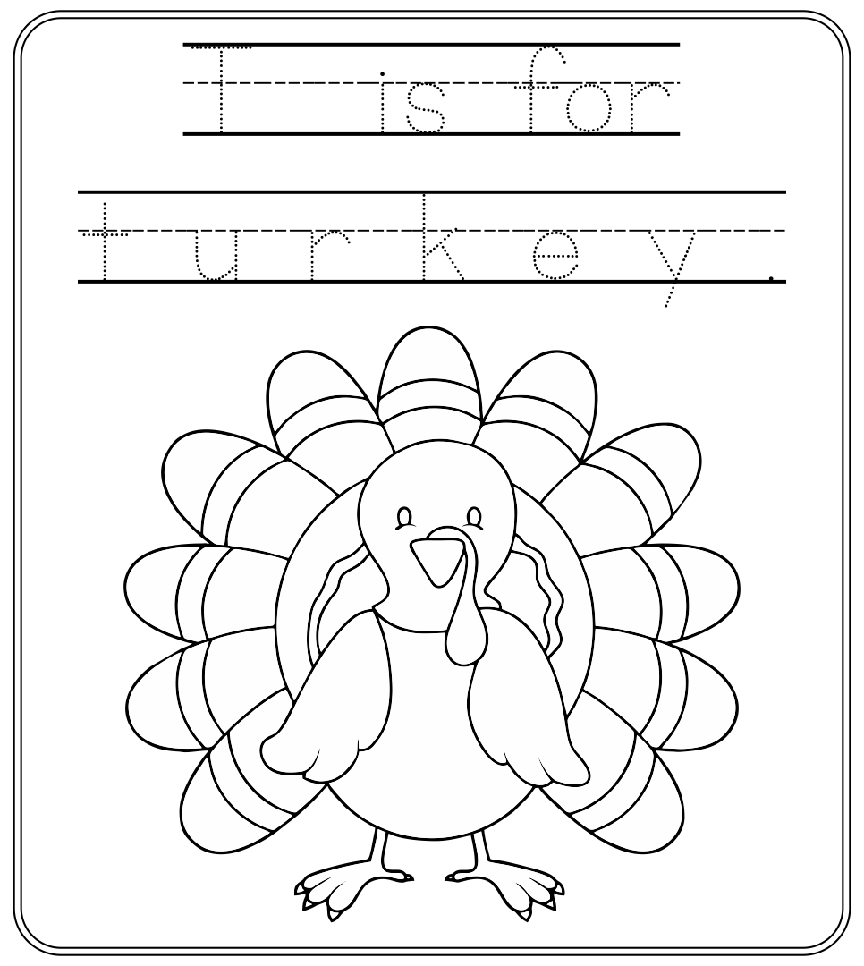 Thanksgiving Kindergarten Worksheets Davezan – Thanksgiving Math Worksheets Free