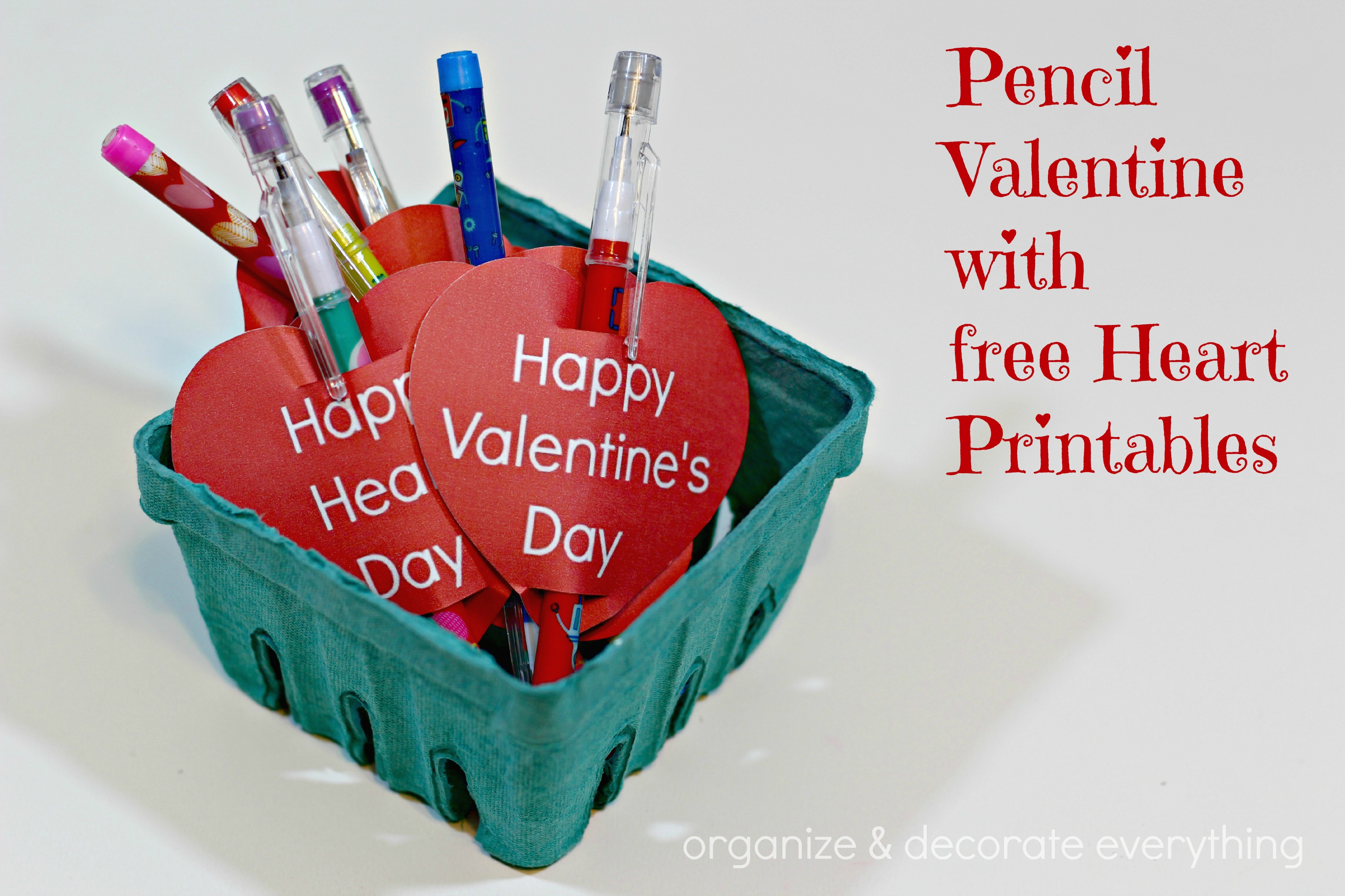 10 Images of Sharp Pencil Valentine Printable