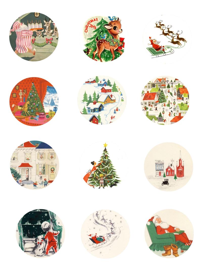Vintage Christmas Printables