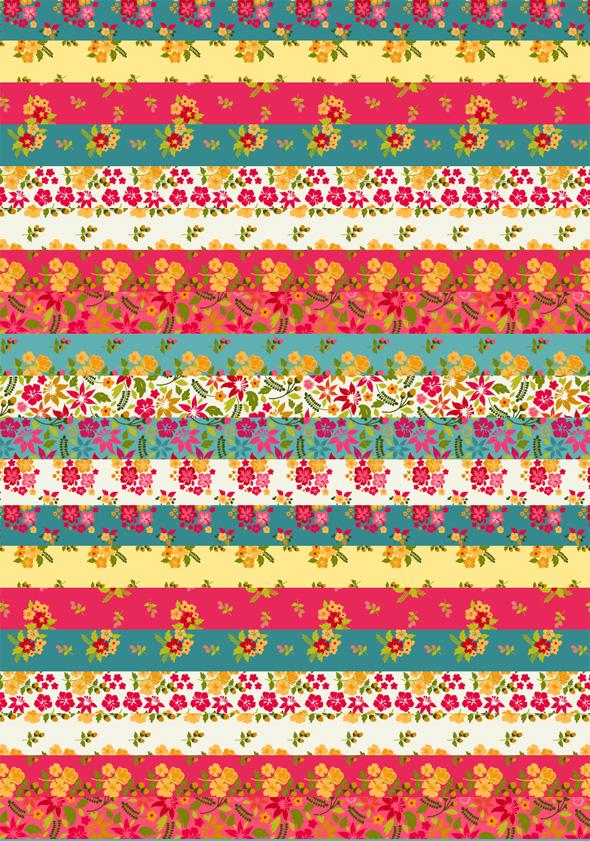 Hawaiian Pattern Printable