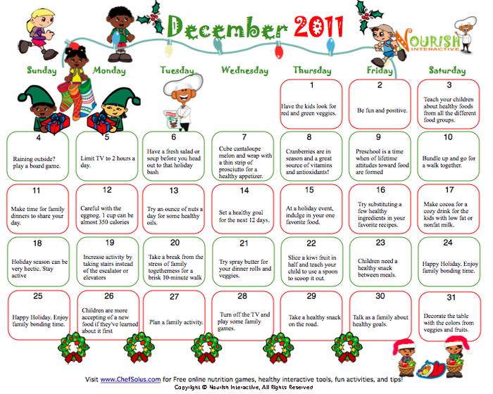 8 Images of Xmas Countdown Calendar Printable