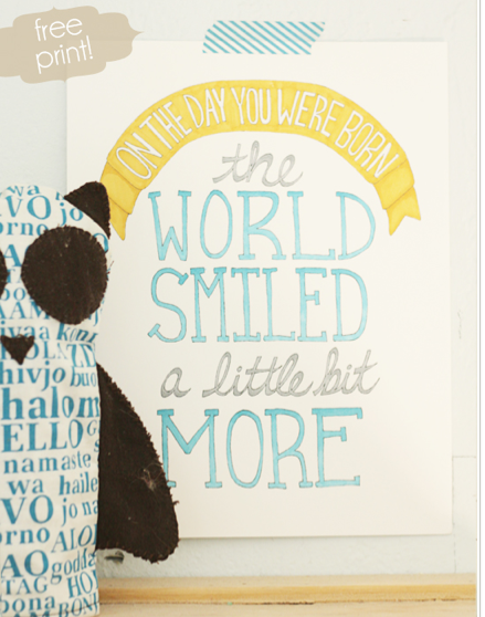 Kids Room Free Printables