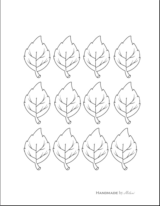 leaf cut outs templates - 7 best images of leaf cut out printable tree leaf cut