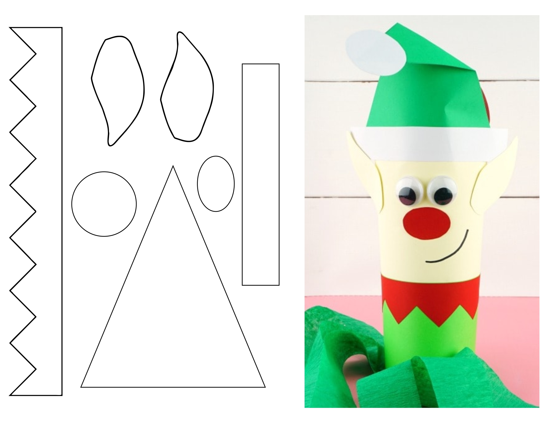 Paper Christmas Craft Patterns