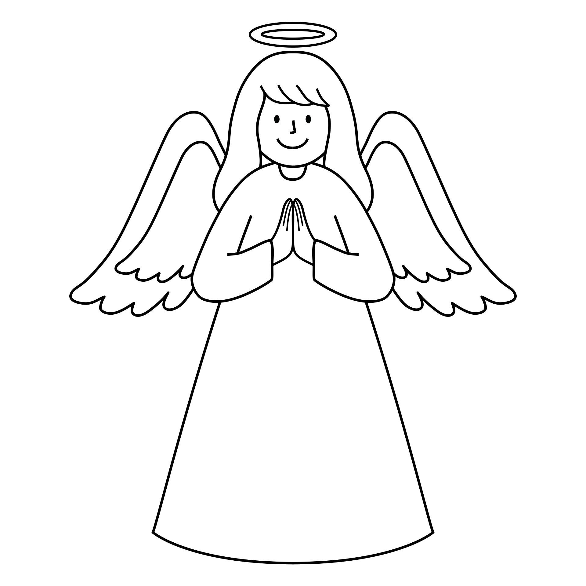 Printable Christmas Angel Crafts
