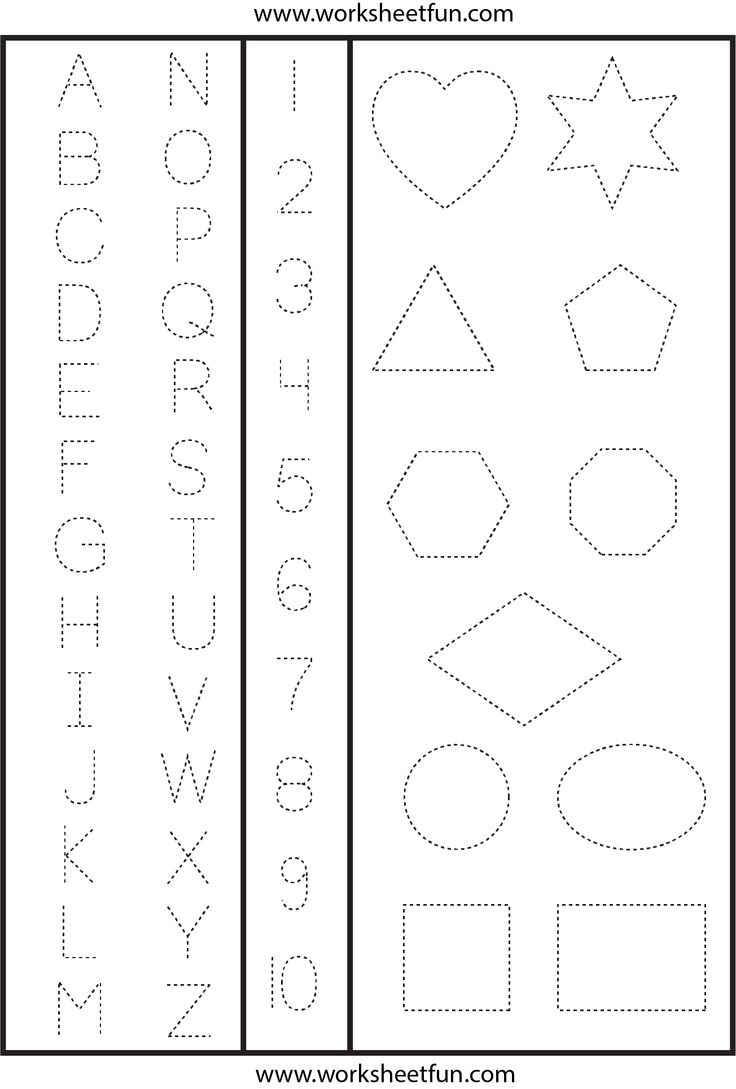 Numbers Worksheetfun Com : Best images of printable letters and numbers for