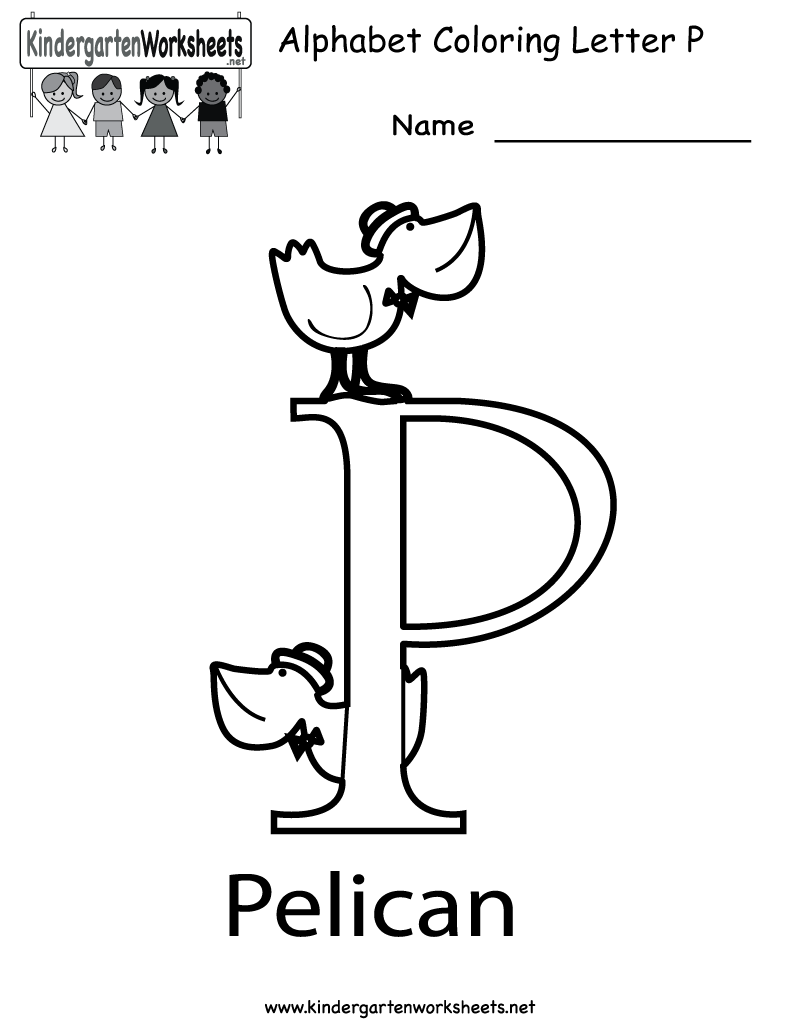 P E Worksheets : Free letter p worksheets for preschoolers resources