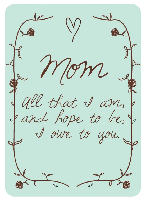 Printable Mother's Day