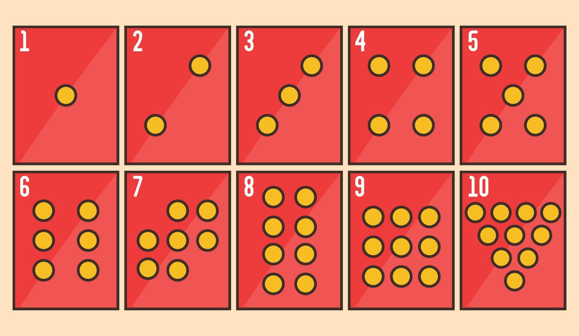 Printable Number Cards 1-20