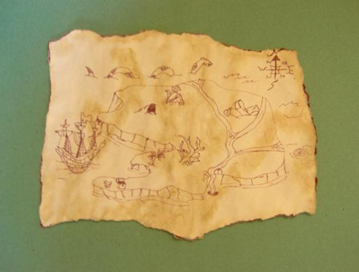 8 Images of Printable Treasure Map Make Online