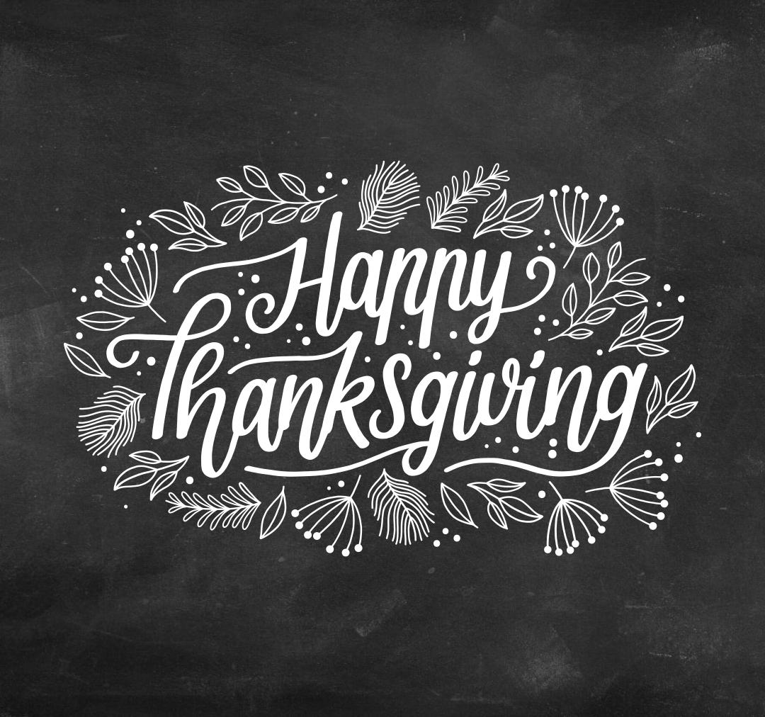 Thanksgiving Chalkboard Art Printable