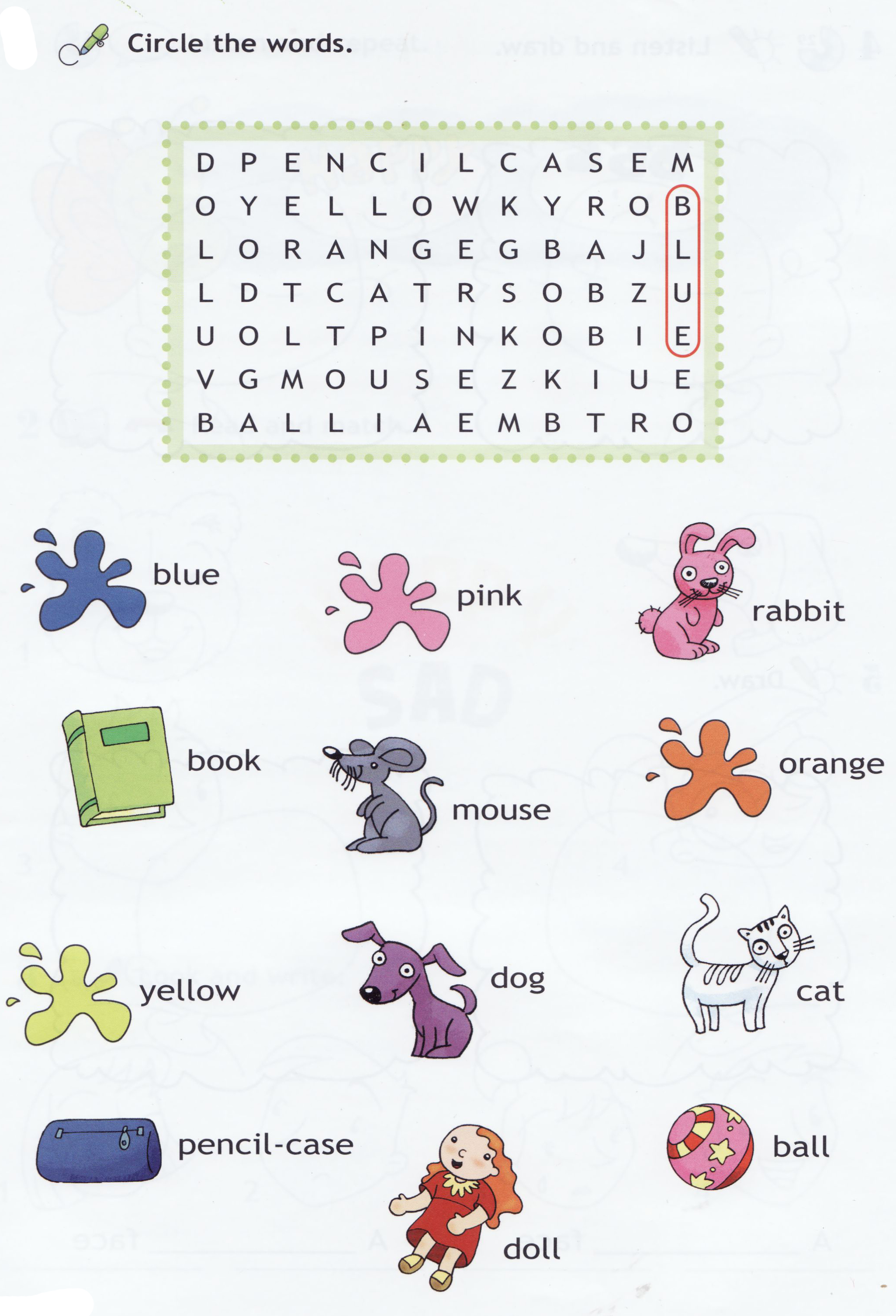 4 best images of nouns word search puzzles printable