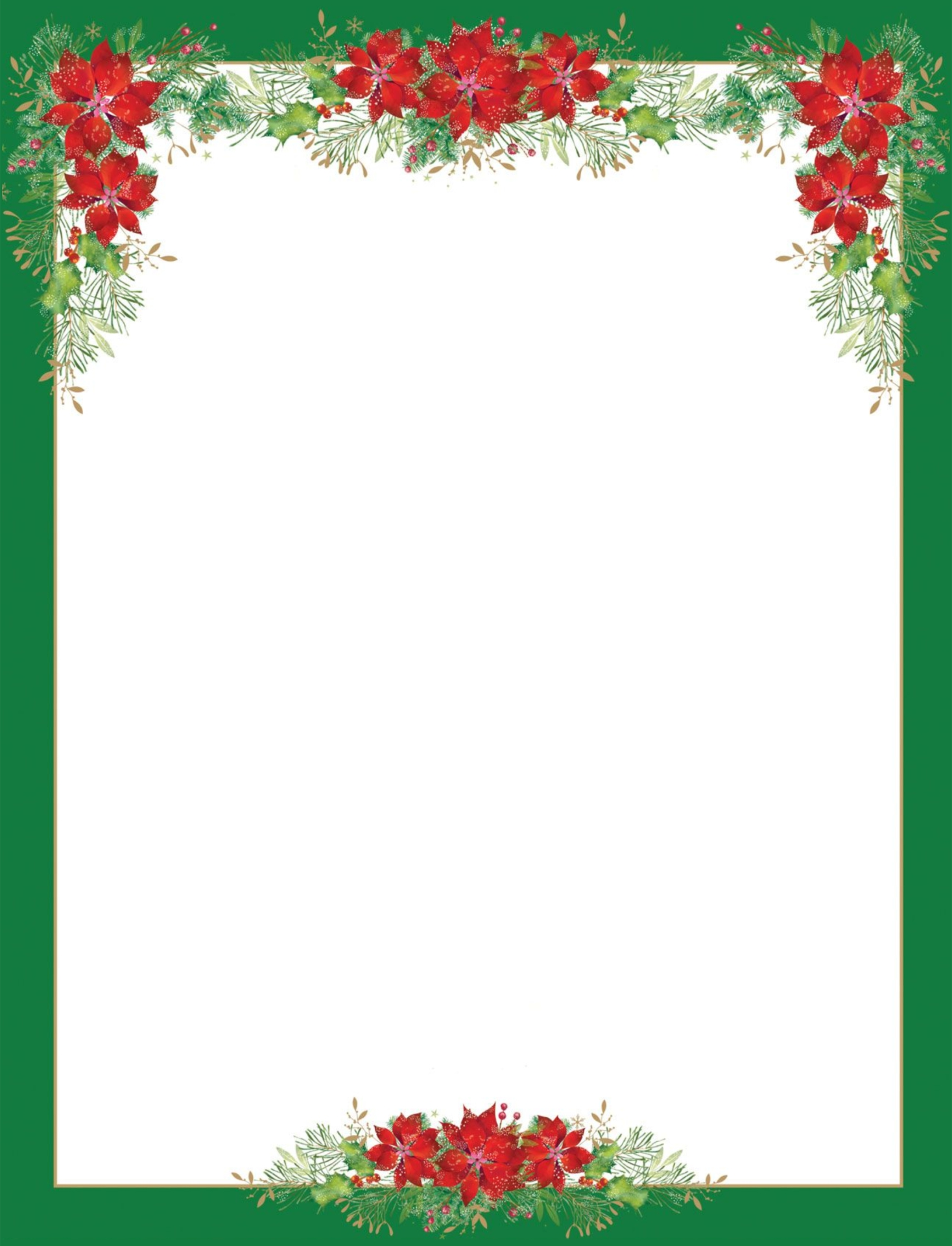 8 Best Images of Printable Christmas Letterhead Paper ...