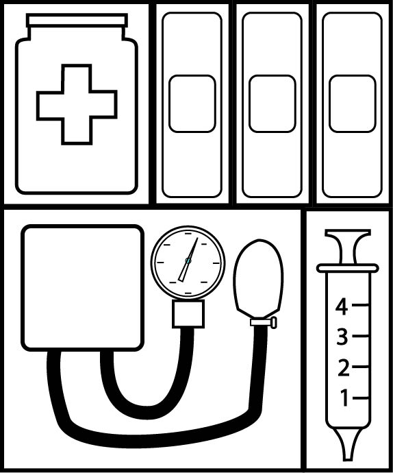 5 best images of printables for preschool doctor bag for Doctor bag craft template