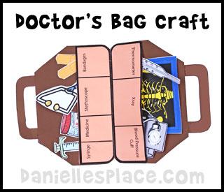 5 Images of Printables For Preschool Doctor Bag