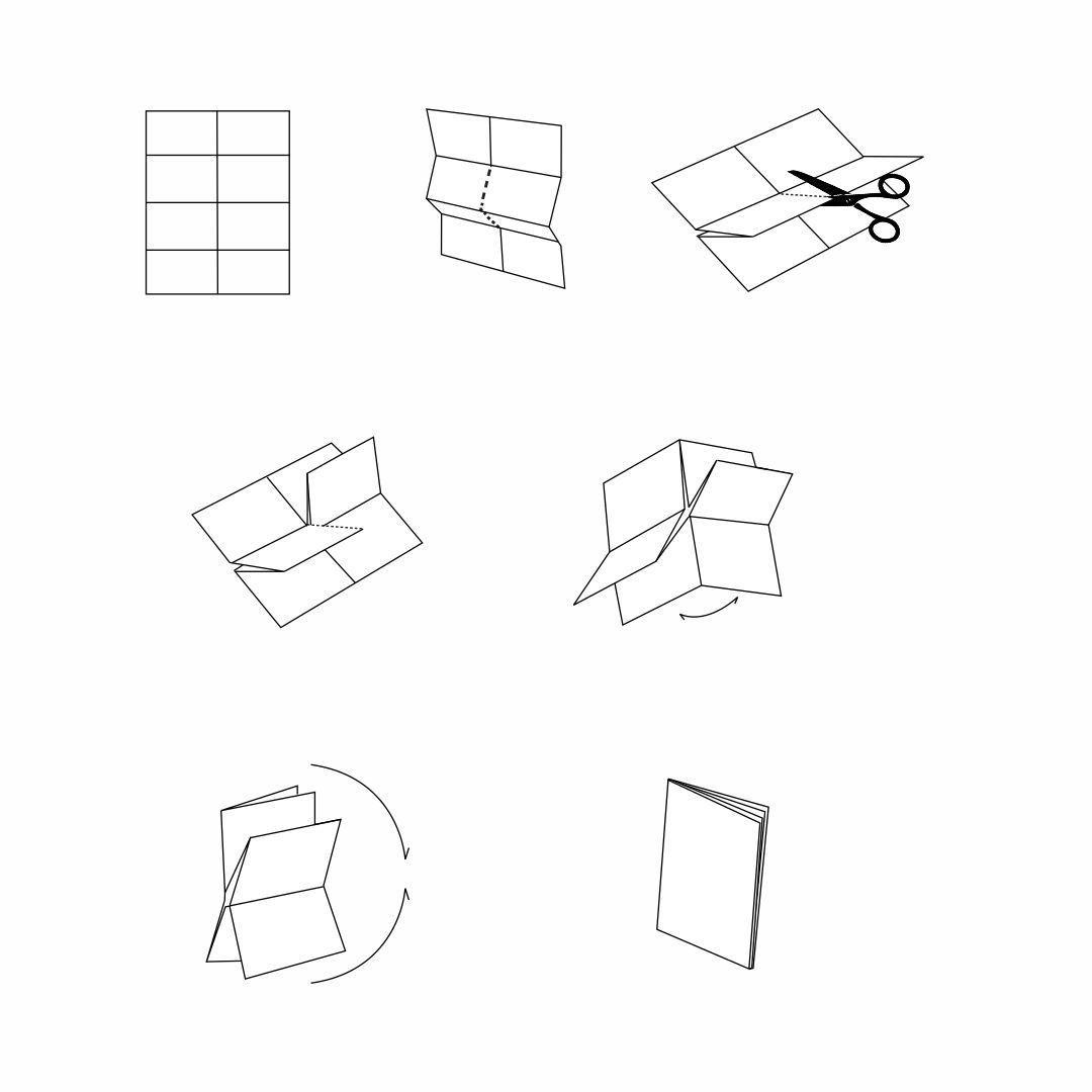 Folding Book Template Printable