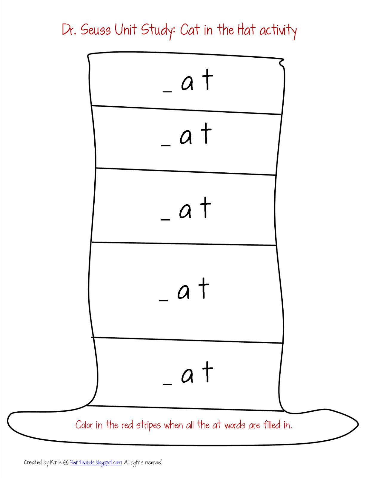 math worksheet : dr seuss free worksheets printables  worksheets for education : Dr Seuss Worksheets For Kindergarten